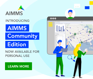 Click here to get AIMMS Community Edition